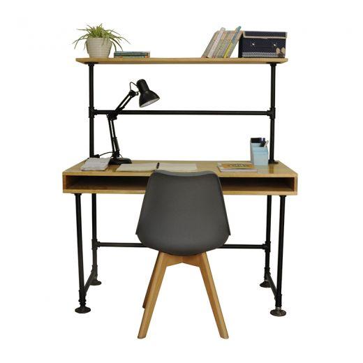 SHO68037 - Bộ bàn ghế học sinh có hộc bằng ống nước sắt
