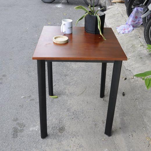 CFD68023 - Bàn Cafe CoffeDesk vuông chân sắt Oval