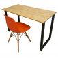 CB68014 - Combo bộ bàn ghế làm việc tại nhà SimpleDesk chân gấp