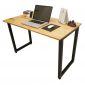 SPD68005 - Bàn làm việc SimpleDesk chân gấp màu gỗ - 120x60x75 (cm)