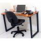 SPD68004 - Bàn làm việc SimpleDesk ngồi cao màu cánh gián - 120x60x75 (cm)