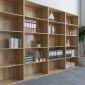 THS68009 - Kệ hồ sơ cao gỗ cao su 5 tầng (80x40x220cm)
