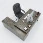 HBAC024 - Bàn giám đốc 180x160 AConcept chân sắt lắp ráp