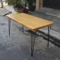 BFHB019 - Bàn giám đốc HairBamboo 140x70cm mặt gỗ tre chân lắp ráp