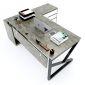 HBKC021 - Bàn giám đốc 180x160 KConcept chân sắt lắp ráp
