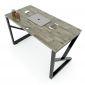 HBKC004 - Bàn làm việc 120x70 KConcept chân sắt lắp ráp