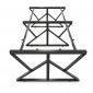 HCKC012 - Chân bàn sắt hệ KConcept 240x120 lắp ráp