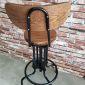 GBSK001 - Ghế Bar mâm xoay nâng hạ chiều cao có lưng
