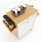KB68012 - Kệ bếp di động đa năng KONA mặt gỗ tre (90x40x80cm)