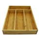 PKT004- Khay đựng giao nĩa gỗ tre cho nhà hàng