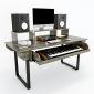 SD68001- Bàn phòng thu StudioDesk 160x70x95cm có hộc kéo đàn