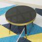 TT68052 - Bàn Sofa CONE 4 chân mặt kính