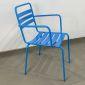 GCF026- Ghế Cafe sắt sơn tĩnh điện nhiều màu có tay