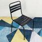 Ghế Cafe, ghế nhà hàng sắt sơn tĩnh điện nhiều màu GCF013