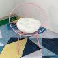 Ghế cafe, thư giãn hình Nón sắt sơn tĩnh điện nhiều màu GCF019