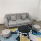 SFB68034- Ghế Sofa băng NAVA 190x80 ( Xám)