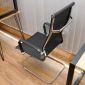 HOGVP1034E - Ghế lưới chân quỳ lưng cao hiện đại