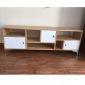 KTV68045 - Kệ Tivi DRUPAL gỗ cao su ( 150x35x52cm)