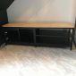 Kệ tivi phòng khách khung sắt hiện đại 140x40x47cm KTV68040