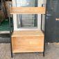 Kệ sách VEGA 2 tầng có hộc tủ KS68094