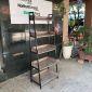 Kệ sách, trang trí CASAN 5 tầng gỗ kết hợp khung sắt 60x36x160(cm) KS68093