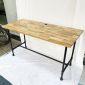 Bàn làm việc 140x60cm gỗ Tràm chân ống nước hệ Wooden HBWD028