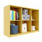 Kệ sách, kệ để đồ 6 ngăn gỗ cao su nhiều màu KGS020