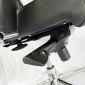 Ghế văn phòng cao cấp chân xoay có tựa đầu GSP94SJ