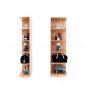 Kệ góc, kệ trang trí 5 tầng gỗ cao su KGT68012