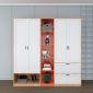 Module tủ quần áo 2m kết hợp kệ trang trí TQA68029