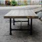 TT68006 - Bàn trà Tea Table gỗ thông chân ống nước - 100x60x35