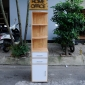 KGT68009 - Kệ góc tường 3 ngăn tủ - 40x40x180 cm