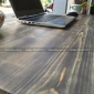 SPD68067 - Bàn làm việc SimpleDesk gỗ thông dày 40mm chân cách điệu 120x60x75 (cm)