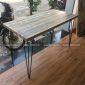 SPD68067 - Bàn làm việc SimpleDesk gỗ thông chân cách điệu 120x60x75 (cm)