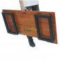 SPD68001 - Bàn làm việc SimpleDesk ngồi bệt màu gỗ - 120x60x35 (cm)