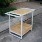 KB68005 - Kệ bếp Kitchenshelf gỗ 2 tầng - 95x50x75 (cm)
