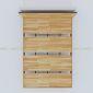 GN68005 - Giường ngủ Ferro viền gỗ - 200x160x35 (cm)*không bao gồm nệm*