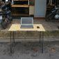 SPD68079 - Bàn làm việc SimpleDesk khuyết PINLEG - 100x60x75 (cm)