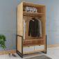 TQA68008 - Tủ quần áo Ferro - 100x63x190 cm
