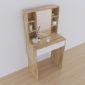 BTD68012 - Bàn trang điểm nhỏ gọn bằng gỗ - 60x40x135 (cm)