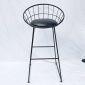 Ghế Bar tròn chân sắt có đệm GCFSK62