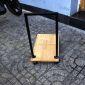KCPU68003 - Kệ CPU màu gỗ khung vuông - 50x30x50 (cm)