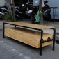KTV68021 - Kệ tivi PIPE hai ngăn kéo - 150x45x50 (cm)