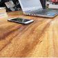 PD68017 - Bàn làm việc ProDesk gỗ me tây chân ống nước - 140x70x75 (cm)