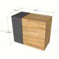 BLT68005 - Bàn thu ngân đơn giản - 120x60x100 (cm)