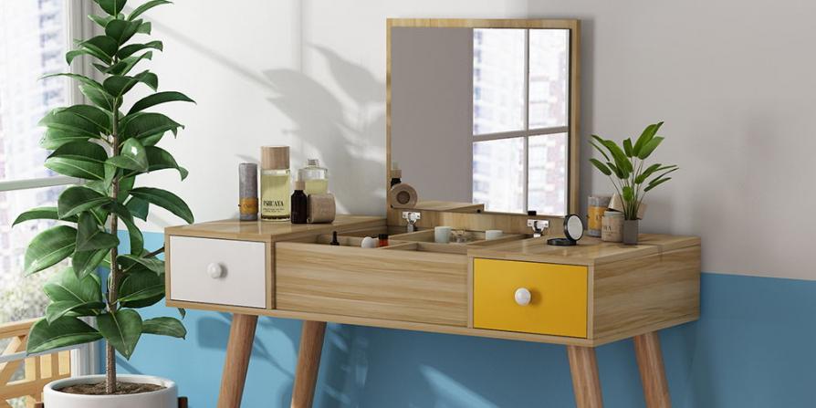 10 Concept bàn trang điểm đẹp nhất 2020 cho phòng ngủ