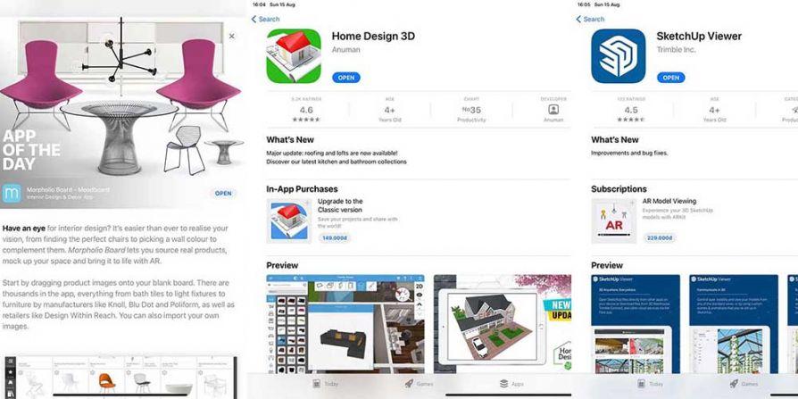 3 ứng dụng trên Ipad dành cho nghề tư vấn thiết kế nội thất