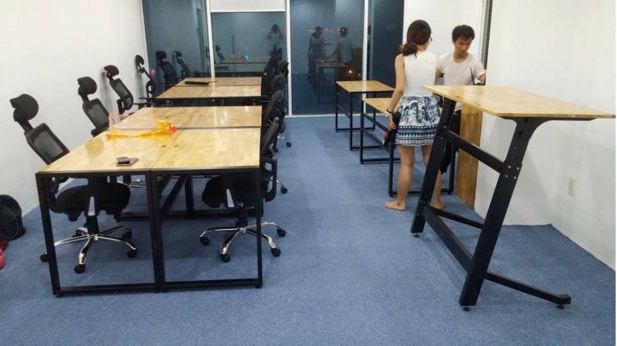 Nội thất văn phòng cho công ty Construct Digital (Singapore)