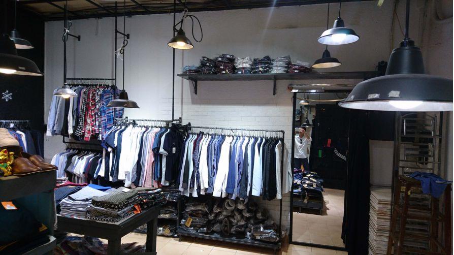 Dự án thiết kế thi công cải tạo nội thất Oz Homeland - Shop thời trang cho phái mạnh