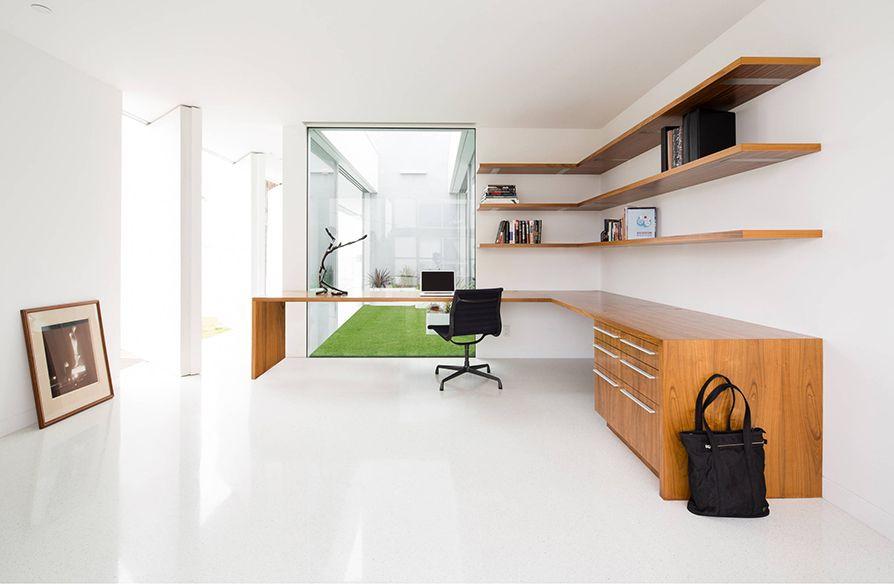 """25 mẫu BÀN CHỮ L """"cực chất"""" cho phòng làm việc tại nhà"""